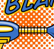 BLAM! - Raygun MKII Sticker