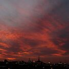 Sunset from my balcony 2 by kimwild