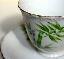Empty Old Tea Cup by Wayne Gerard Trotman