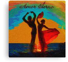 Amor Eterno Canvas Print