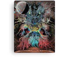 Tree Woman Awakens Canvas Print