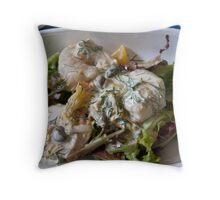Shrimp Appetizer Throw Pillow
