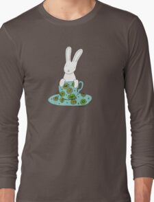 Bunny in a teacup Long Sleeve T-Shirt