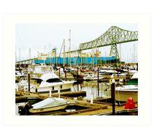 Astoria Bay Art Print