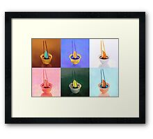 Sushi, 6 pc. Framed Print