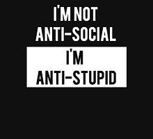 Anti-Social Vs Anti-Stupid Unisex T-Shirt