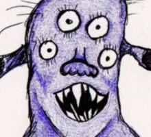 Ralph the Purple Monster Sticker