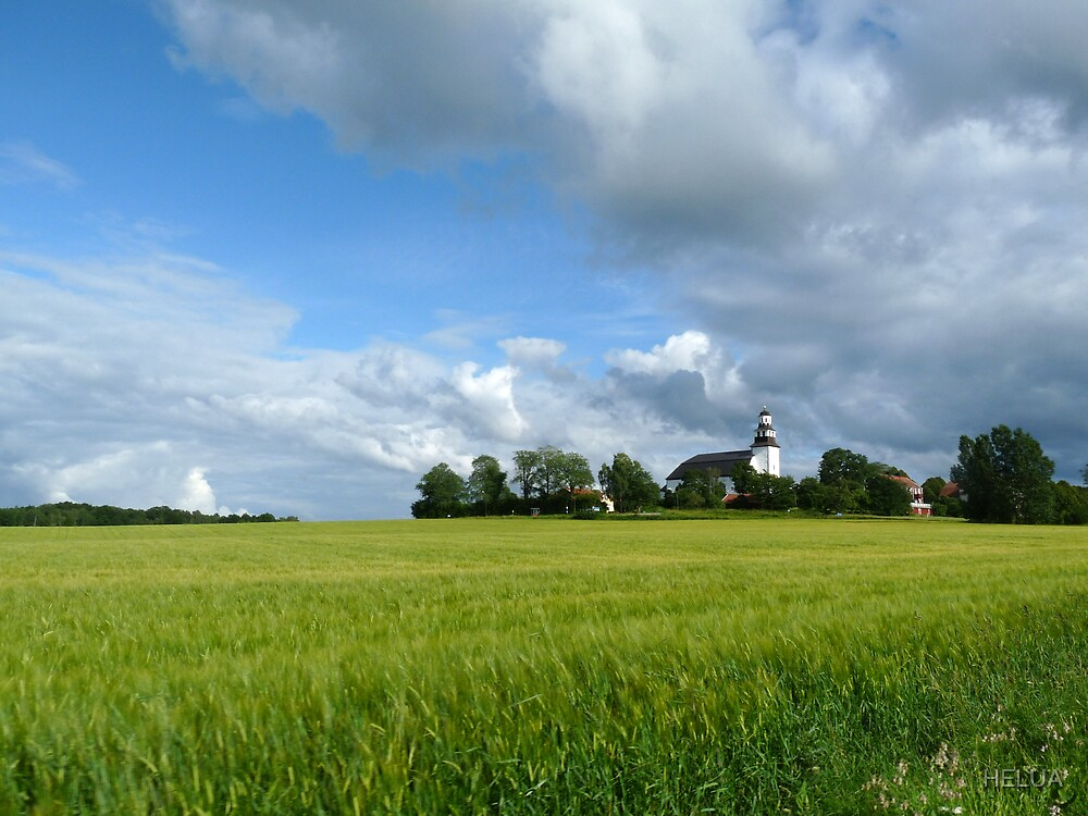 Stora Åby Kyrka i Östergötland by HELUA