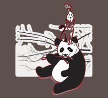 Panda cat bunny snail ant by bites