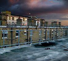 Hackney Rooftop by SHOI Images