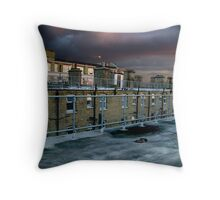 Hackney Rooftop Throw Pillow