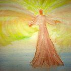 Angel Stirring Healing Waters by Songwriter