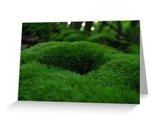 Rolling Hills of Moss  Greeting Card