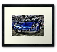 Renault Sport Spider Framed Print
