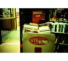 Strand Bookstore Photographic Print