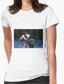 Brown Pelican Water Take Off T-Shirt