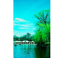 The Boathouse Photographic Print