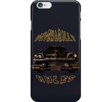 Psychobilly Rules Hot Rod iPhone Case/Skin