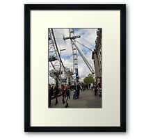 London eye - ferris wheel #2 Framed Print