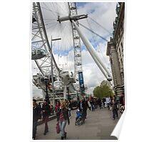 London eye - ferris wheel #2 Poster