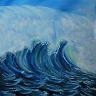 """Big Wave"" - Oil Painting by Avril Brand"