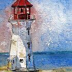Peggy's Cove Lighthouse, Nova Scotia by bevmorgan