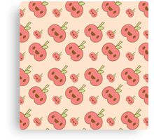 Cute Forest Apples Canvas Print