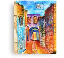 Israeli Fuse Box Canvas Print