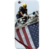 Let The USA Flag Fly iPhone Case/Skin