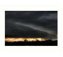 4th of July Colby, Kansas dusk/evening Art Print