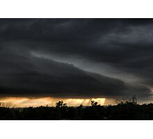 4th of July Colby, Kansas dusk/evening Photographic Print