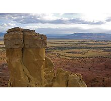 Chimney Rock at Ghost Ranch Photographic Print