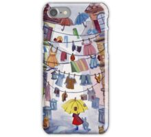 Clotheslines iPhone Case/Skin