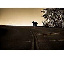 The Lone Road Home Photographic Print