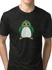 Green Penguin 2 Tri-blend T-Shirt