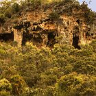 Caves, Donnelly River, Western Australia by Elaine Teague