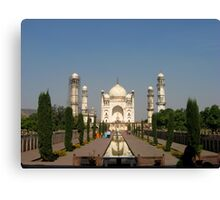 Not Taj Mahal, but Taj of Deccan Canvas Print