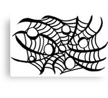 BW Web Canvas Print