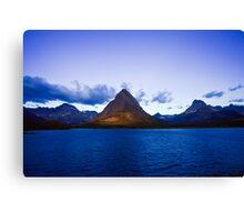 Swiftcurrent Lake Sunrise Canvas Print