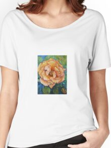 Pink Peace Rose Women's Relaxed Fit T-Shirt