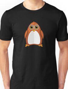 Brown Orange Penguin 2  Unisex T-Shirt