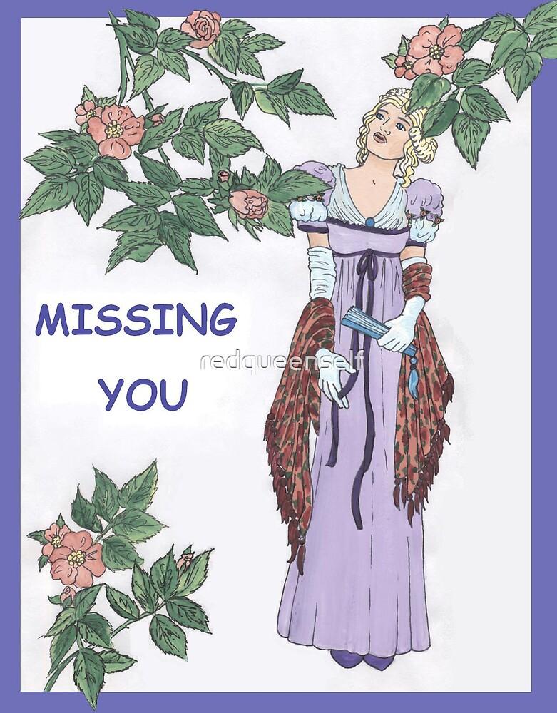 Missing Regency Rose by redqueenself