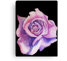Blue Moon Rose Canvas Print
