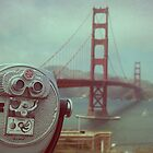 golden gate bridge.  by kristinemay