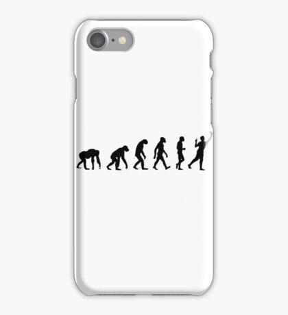 evolution of man (selfie) iPhone Case/Skin