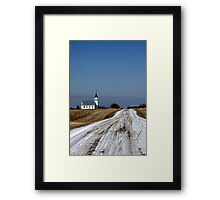Saskatchewan View Framed Print