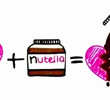 Nutella fixes broken hearts  by Jkird1