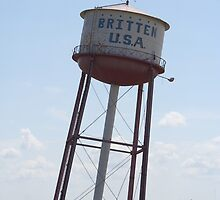 Leaning Water Tower on Route 66 by CaryA