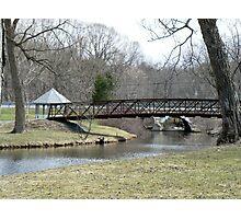 Bridge over Calm Waters Photographic Print