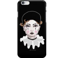 Pierrot - The Sad Clown iPhone Case/Skin